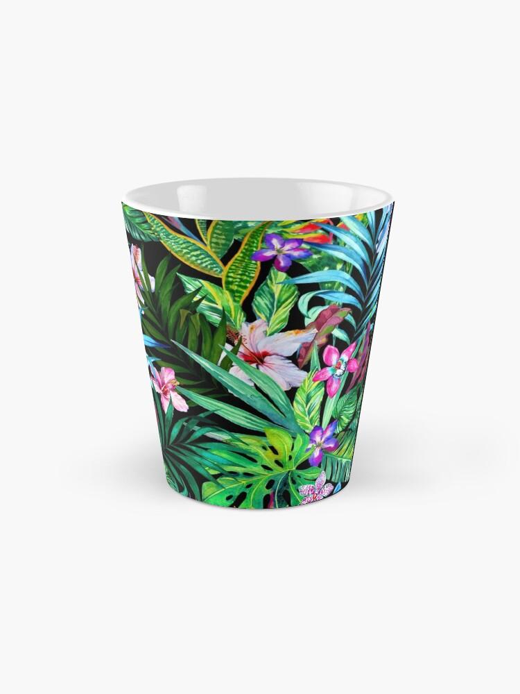 Alternative Ansicht von Tropisches Fest Tassen
