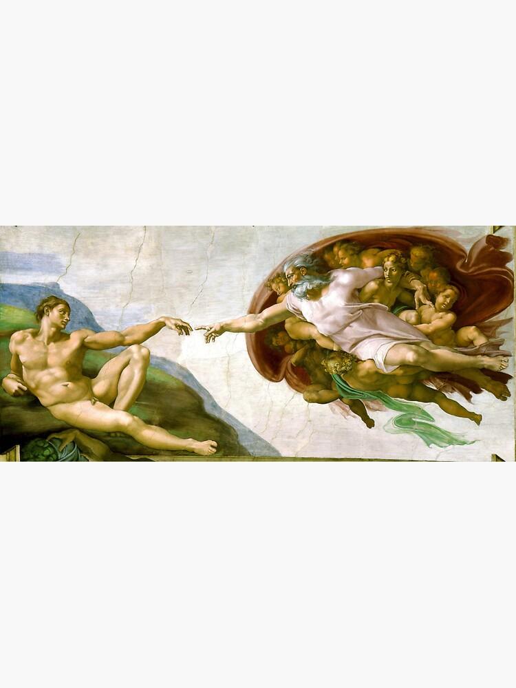 """Michelangelo, The Creation of Adam, 1510, Genesis ..."
