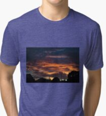 Sunset Landscape Tri-blend T-Shirt