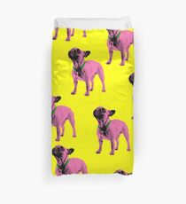 Pop Art Frenchie Duvet Cover