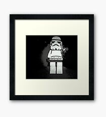 Reach for the Skies! Framed Print