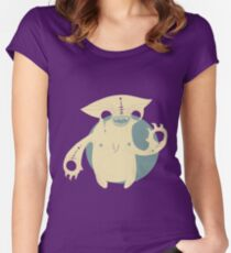 Monster Cat Women's Fitted Scoop T-Shirt