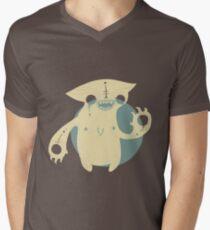 Monster Cat Men's V-Neck T-Shirt