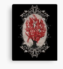 Weirwood Tree Canvas Print