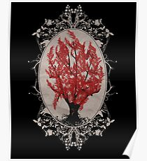 Weirwood Tree Poster