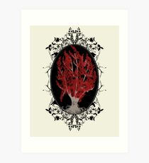 Weirwood Tree Art Print