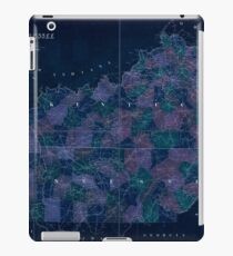 0119 Railroad Maps Map of Kentucky Tennessee exhitibing the post offices post roads canals rail roads c by David H Burr Late topographer to the Post Office Geographer to the Inverted iPad Case/Skin