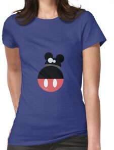 Mouse droid Womens Fitted T-Shirt