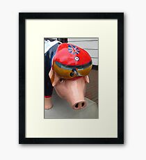 Sir Bradley Piggins Framed Print