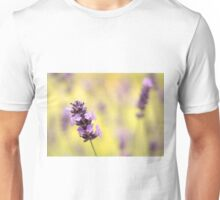 Lavender and green Unisex T-Shirt