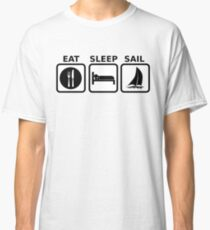 Eat Sleep Sail Classic T-Shirt