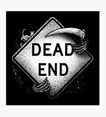Dead End Photographic Print