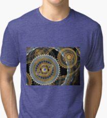 Steampunk machine Tri-blend T-Shirt