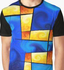 Fergussos V1 - digital abstract Graphic T-Shirt