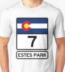 CO-7 Estes Park Colorado, Gateway to the Rockies T-Shirt