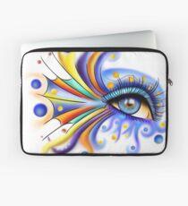 Arubissina V2 - fish eye Laptop Sleeve