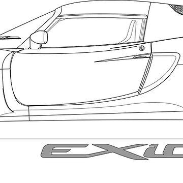 Lotus Exige S V6 by BlackArtGraphx