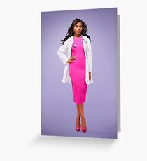 The mindy project  Greeting Card