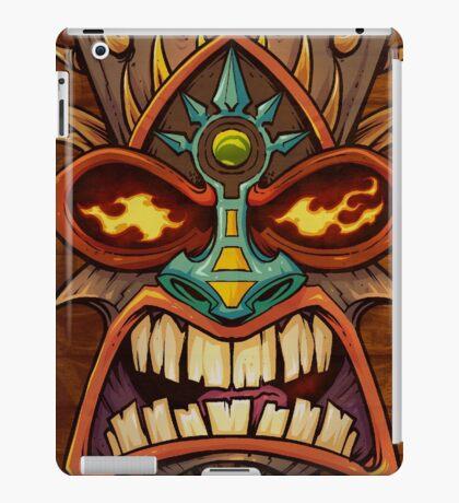 Tiki Head Style 3 iPad Case/Skin