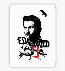 Ed Wood Sticker