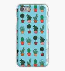 Plant Doodles iPhone Case/Skin