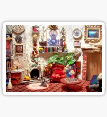 La Casita (Little House) /Scene from a Miniature) Sticker