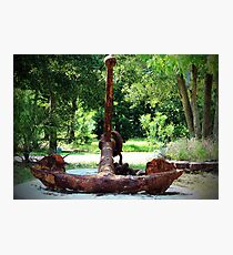 Fisherman's Anchor Photographic Print