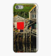 Evening at Peggys Cove iPhone Case/Skin