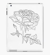 Rose Linework iPad Case/Skin
