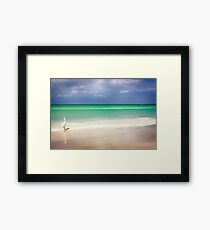 Siesta Key beach in Sarasota, Florida Framed Print