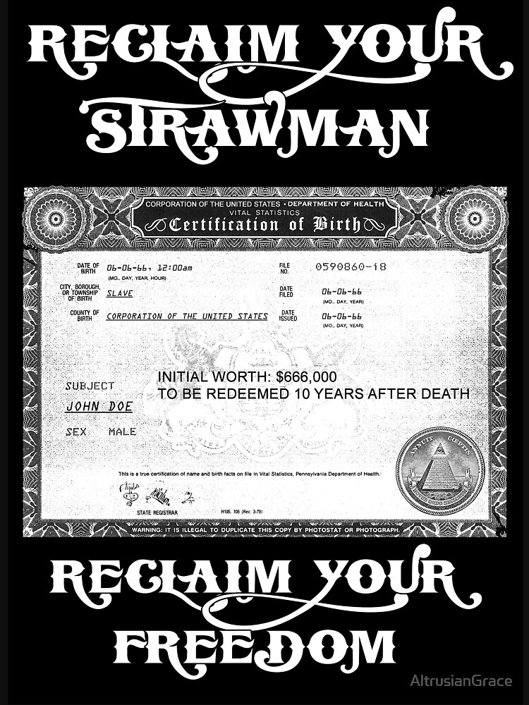 Reclaim Your Strawman Unisex T Shirt By Altrusiangrace Redbubble