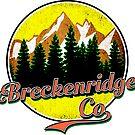 BRECKENRIDGE COLORADO Hiking Skiing Mountain Mountains Camping by MyHandmadeSigns