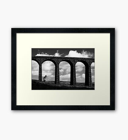 Tree beneath the Arches Framed Print