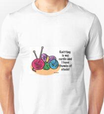 Knitting is my cardio T-Shirt