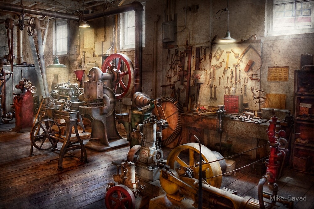 Machinist - A room full of memories  by Michael Savad