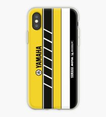 Team Yamaha Black and Yellow iPhone Case