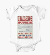 Performing Arts Posters Challenge to Houdini Regent Theatre Salford 2844 One Piece - Short Sleeve