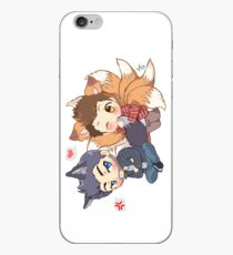 The Fox 'n the Wolf iPhone Case