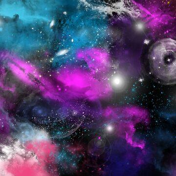 Galaxy Print  by saycheese14