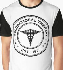 Occupational Therapy Vintage Stamp Graphic T-Shirt
