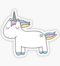 Pastel unicorn. Sticker