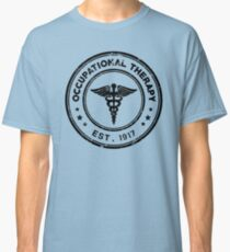 Occupational Therapy Vintage Stamp Classic T-Shirt