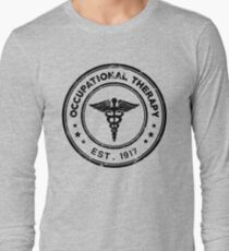 Occupational Therapy Vintage Stamp Long Sleeve T-Shirt