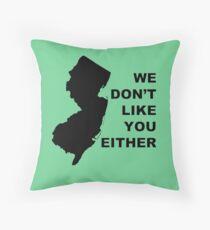NJ Additude Throw Pillow