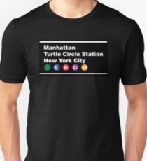 TMNT NYC Subway Sign Unisex T-Shirt