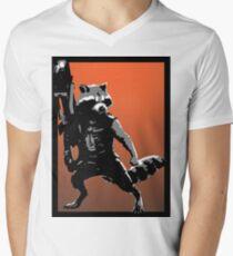 Rocket Racoon Men's V-Neck T-Shirt