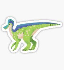 Corythosaurus sticker Sticker