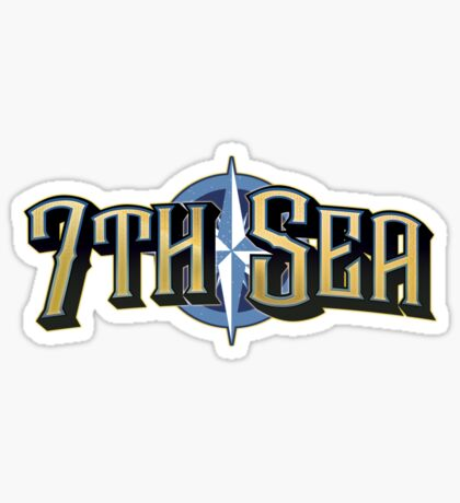 7th Sea Logo Sticker