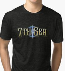 7th Sea Logo Tri-blend T-Shirt