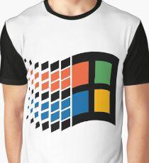 Windows 95 Logo Graphic T-Shirt